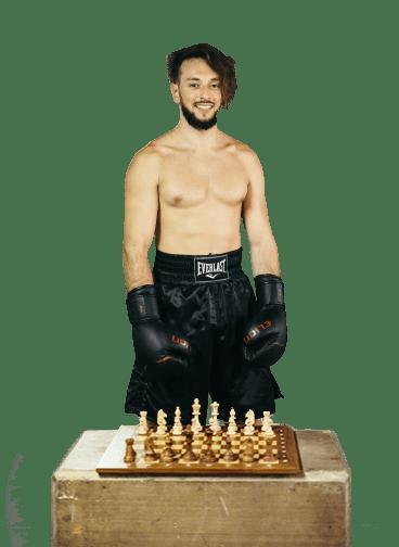 Ambassadeur Thomas Cazeneuve chessboxeur