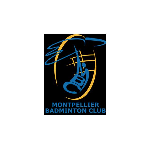 Logo montpellier badminton club